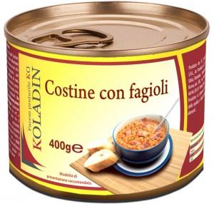 Koladin -  Costine con fagioli